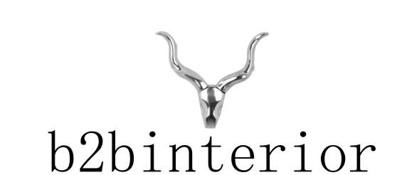 B2BInterior Logo - Grosshandel mit Interior Dekorationen und Designer Möbel